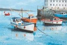 Judi Trevorrow / A collection of Judi Trevorrow's paintings. She mainly paints in water-colour or acrylic. Judi lives in Cornwall and her work reflects her passion for the local area.