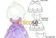 MOLDES DISFRACES I / Moldes para disfraces ( Adultos e infantil)