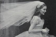 VINTAGE WEDDING DRESS INSPIRATIONS / Aren't they the best???