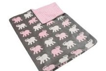 Baby Throws / Faux Furs Printed Microplush