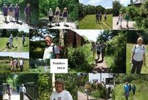 2014 Poddle (Sponsored walk) / The Wey & Canal Trust 2014 Poddle (sponsored walk) raised £9000. The walk started from Shalford Mill in Surrey and included the Trust's new riverside walk in Hunt Park