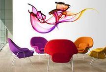 Colors in space / Interior Design
