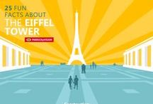 Paris Infographics / Discover #Paris with #Infographics. A good infographic is worth a thousand words