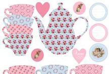 Tea Cups & Pots - Decor - pictures / Design - cups - tea pots - pictures