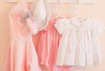 Nursery Ideas / Peach/Apricot and soft grey x
