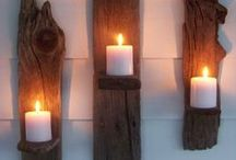Candles - DIY - Recipe - Decoration / Different candle holders, how to make candles. Candles - DIY - Recipe - Decoration