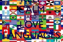Love *languages* / Languages of the World  Arabic .Spanish .Russian .Danish .German .Turkish .Greek ......... Etc.