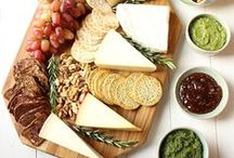 LOVE CHEESE / For all the cheese lovers.  Feast your eyes on delectable cheeses, and experiment with some cheese recipes.