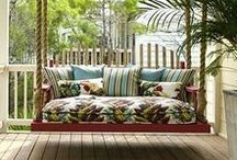 Front Porch / Inspiration for creating welcoming beauty on your front porch.