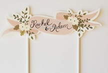 wedding board idea