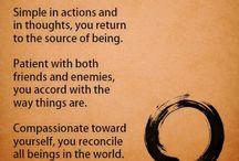 Wisdom / Inspirations, choices and wisdom