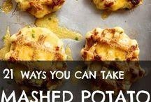 Food ~ Squash & Potato & Cauliflower / Recipes for squash, potatoes & cauliflower