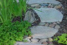 Backyard ~ Pathways / Backyard paths and trails