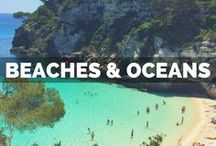 Beaches & Oceans / The best beaches in the world, all in one place! Inspiration for great beach vacations, where to find hidden beaches, best beaches in Europe and the prettiest beaches in the US.