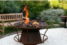 Fire Pits + Burners / Cast iron Fire pit bowls Create a cosy, gathering place in your garden with one of our charming fire pits or let tranquillity flow into your sanctuary with a minimalist or figurative water feature