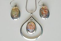Handmade Jewelry from the International SRAJD Organization / These pieces of jewelry were all made by members of the group SRAJD (Self-Representing Artists in Jewelry Design).  Experience the benefits to buying directly from the artist.
