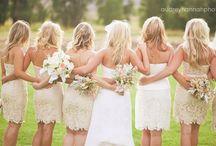 Here come the bride...