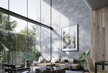 Wright house inspiration / Inspiration for the modern industrial home we are building.