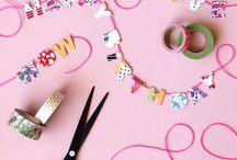 Washi wonders / Wonderful ways to get creative with washi tape