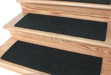 Stair-treads / A carpet for your stairs that provides better grip for humans and pets.
