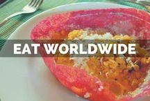 Eat: Recipes & Travel / Restaurant reviews worldwide   Best recipes that inspire world travel   Foodie finds across the globe   Best food in the best cities