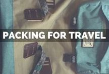 Packing for Travel / Tips for what to pack for a trip Packing for vacations, packing for summer vacation, packing hacks and tips for group travelers!