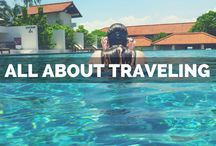 All About Traveling! / No matter if you're traveling on a shoestring or are all about luxury travel, this is for you. Travel tips for worldwide destinations!
