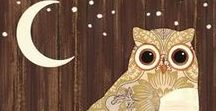 Illustration * Owls