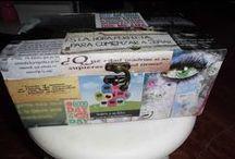 cajas - boxes / by almudena y carmen