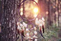 Eléments & Symboles / Water - Feathers - Candles - Vine leaf - Fantasy Ship