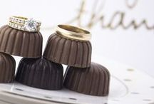 """Sweet """"I do's"""" / Chocolate is the key to wedded bliss."""