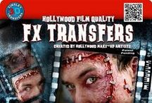 Tinsley Medium Tinsley 3D FX Transfers / Tinsley Transfers FX Transfers have turned the makeup world on it's head! Easy to apply prosthetic transfers are fun to use, realistic and need no glue or remover.