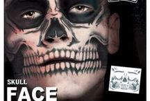 Face Tattoos / A series of Face Temporary Tattoos by Tinsley Transfers that completely change your look