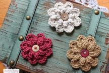 Цветочки листики сердечки бабочки / Цветочки, сердечки,