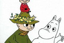 Moomintrolls / Картинки для вдохновения