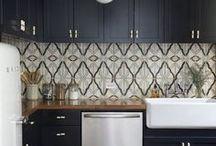 INTERIORS || Kitchen / Home Kitchen Interior Inspiration