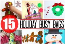 Holiday Activities (October-December) / Preschool activities including Halloween, Thanksgiving, Christmas, Channukah, and New Year's Eve among others.