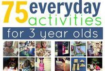 Kids Activities / Various ideas of activities to do with preschool children