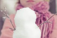 Winter / Winter, Christmas, snow and indoors magical moments. Inspirational DIY projects, cards, home decor and images.