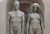 Sculpture / zdjęcia rzeźb, które z jakichś powodów mi się spodobały :-) Niestety, niektóre rzeźby są pochodzenia komputerowego...