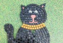 Mosaic kits / Fun and vibrant mosaic kits, everything inlcuded. £17.99