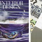 As Seen In Interior Design Magazine / Tango Tile's Contemporary marble mosaics by California Stone & Mosaic were selected by Interior Design Magazine as Hot New Product