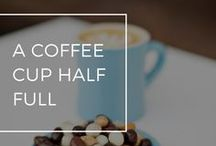 A Coffee Cup Half Full / Coffee and chocolate are a match made in heaven