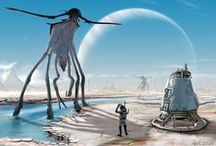 XENOBIOLOGY / Life forms of alien worlds. Scientifically realistic extraterrestrial flora and fauna which hypothetically can inhabitate other planets.