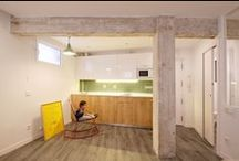 G14 HOUSE_luisjaguilar architects / Restoration and refurbishment of a 1960´s 30 sqm lower ground floor apartment. Madrid. 05/2015