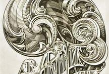Illustration - Ornementation