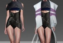 SCI-FI FASHION / Futuristic and sci-fi fashion. Clothing, accessories and makeup of close and distant future.