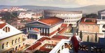 S.P.Q.R. - ARCHITECTURE / Cities, buildings, design, engineering and science of city building in ancient Rome.