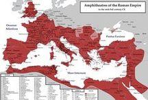 S.P.Q.R. - MAPS / Different maps of ancient roman world.