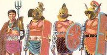 S.P.Q.R. - GLADIATORS / Fighters of ancient roman arena.